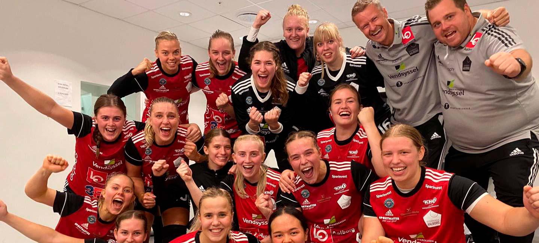 EH Aalborgs hold med sejrsgejst